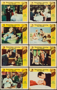 """Lover Come Back (Universal International, 1962). Lobby Card Set of 8 (11"""" X 14""""). Comedy. ... (Total: 8 Items)"""