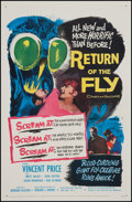 """Movie Posters:Science Fiction, Return of the Fly (20th Century Fox, 1959). One Sheet (27"""" X 41"""").Science Fiction.. ..."""