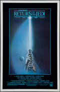 """Movie Posters:Science Fiction, Return of the Jedi & Other Lot (20th Century Fox, 1983). OneSheets (2) (27"""" X 40"""" & 27"""" X 41"""") SS & DS, Style A &Regular. ... (Total: 2 Items)"""