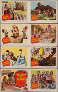 """Movie Posters:Adventure, A Thousand and One Nights (Columbia, 1945). Lobby Card Set of 8(11"""" X 14""""). Adventure.. ... (Total: 8 Items)"""