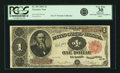 Large Size:Treasury Notes, Fr. 351 $1 1891 Treasury Note PCGS Very Fine 30 Apparent.. ...