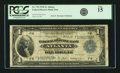 Fr. 725 $1 1918 Federal Reserve Bank Note PCGS Fine 15
