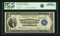 Fr. 727 $1 1918 Federal Reserve Bank Note PCGS Very Fine 35PPQ