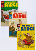 Silver Age (1956-1969):Humor, Sad Sack and the Sarge Near Complete Run File Copy Long Box Group (Harvey, 1957-82)....