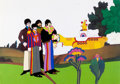 Animation Art:Production Cel, Yellow Submarine John, Paul, George, and Ringo Production Cel Setup (United Artists/King Features, 1968)....