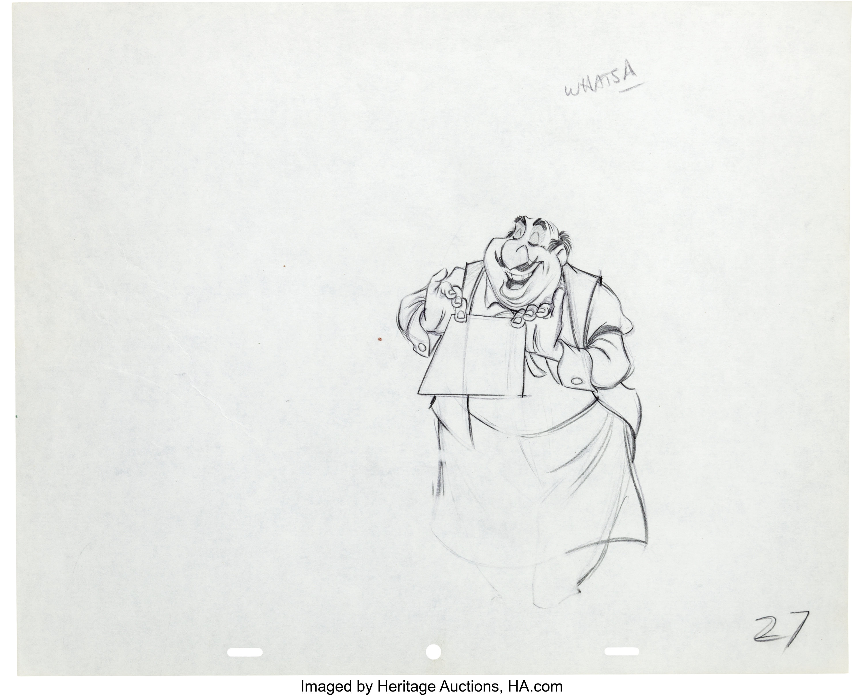 Lady And The Tramp Tony Animation Drawing Group Walt Disney Lot 95093 Heritage Auctions