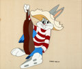 Animation Art:Production Cel, Eight Ball Bunny Bugs Bunny Production Cel (Warner Brothers,1950)....
