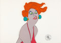Animation Art:Production Cel, The Rescuers Madame Medusa Production Cel (Walt Disney,1977).... (Total: 2 Original Art)