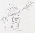 Animation Art:Production Drawing, Mickey Mouse Animation Rough Drawing (Walt Disney, c. 1930s)....