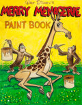 Animation Art:Production Drawing, Walt Disney's Merry Menagerie Paint Book ConceptIllustration (c. 1950s-60s)....