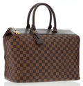 Luxury Accessories:Bags, Louis Vuitton Damier Ebene Canvas Neo Greenwich Bag. ...