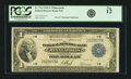 Fr. 734 $1 1918 Federal Reserve Bank Note PCGS Fine 12