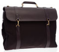 Luxury Accessories:Travel/Trunks, Louis Vuitton Mahogany Taiga Leather & Canvas Garment Bag. ...