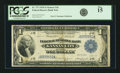 Fr. 737 $1 1918 Federal Reserve Bank Note PCGS Fine 15