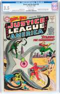 Silver Age (1956-1969):Superhero, The Brave and the Bold #28 Justice League of America (DC, 1960) CGCVG- 3.5 Off-white pages....
