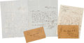 Autographs:Military Figures, [Mexican War]. Charles Stone Letters (3),... (Total: 3 Items)