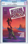 Modern Age (1980-Present):Science Fiction, Alien Worlds #1 (Pacific Comics/Eclipse, 1982) CGC NM/MT 9.8 Whitepages....