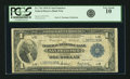 Fr. 743 $1 1918 Federal Reserve Bank Note PCGS Very Good 10