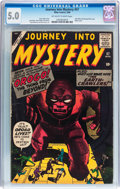 Silver Age (1956-1969):Mystery, Journey Into Mystery #57 (Marvel, 1960) CGC VG/FN 5.0 Off-white to white pages....