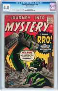 Silver Age (1956-1969):Science Fiction, Journey Into Mystery #58 (Marvel, 1960) CGC VG 4.0 Cream to off-white pages....