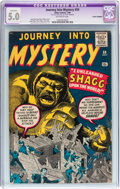 Silver Age (1956-1969):Mystery, Journey Into Mystery #59 (Marvel, 1960) CGC Apparent VG/FN 5.0Off-white pages....