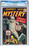 Silver Age (1956-1969):Horror, Journey Into Mystery #61 (Marvel, 1960) CGC VG/FN 5.0 Off-white towhite pages....