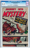 Silver Age (1956-1969):Horror, Journey Into Mystery #65 (Marvel, 1961) CGC FN- 5.5 Off-white towhite pages....