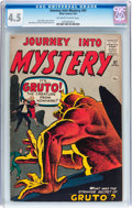 Silver Age (1956-1969):Horror, Journey Into Mystery #67 (Marvel, 1961) CGC VG+ 4.5 Off-white towhite pages....