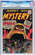 Silver Age (1956-1969):Horror, Journey Into Mystery #68 (Marvel, 1961) CGC VG/FN 5.0 Off-white towhite pages....