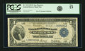 Fr. 743 $1 1918 Federal Reserve Bank Note PCGS Fine 15