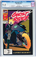Modern Age (1980-Present):Superhero, Ghost Rider V2#1 (Marvel, 1990) CGC NM/MT 9.8 White pages....
