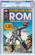 Bronze Age (1970-1979):Superhero, Rom #1 (Marvel, 1979) CGC NM+ 9.6 White pages....