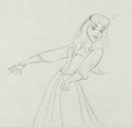 Animation Art:Production Drawing, Sleeping Beauty Briar Rose Production Drawing Animation Art(Walt Disney, 1959). ...
