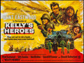 "Movie Posters:War, Kelly's Heroes (MGM, 1970). British Quad (30"" X 40""). War.. ..."
