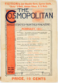Books:Periodicals, [African-American Dialect Tales]. [Joel Chandler Harris]. February,1901 Issue of The Cosmopolitan Magazine. Vol. ...