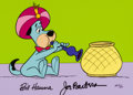 "Animation Art:Limited Edition Cel, Huckleberry Hound ""Snake Charmer Huck"" Limited Edition Cel AP #6/20(Hanna-Barbera, 1988)...."