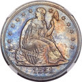 Seated Dollars, 1851 $1 MS63 NGC....