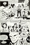 Original Comic Art:Panel Pages, George Tuska and Mike Machlan Justice League of America #241page 18 Original Art (DC, 1985)....