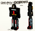 Animation Art:Color Model, Challenge of the GoBots Loco Color Model Cel Animation Art(Hanna-Barbera, 1984). ...