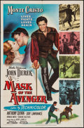 "Movie Posters:Adventure, Mask of the Avenger & Others Lot (Columbia, 1951). One Sheets(7) (27"" X 41""), Lobby Cards (5) (11"" X 14""), and Comic Poster...(Total: 13 Items)"