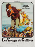 """Movie Posters:Animation, Gulliver's Travels (Fox-Lira, R-1970s). French Affiche (23.5"""" X31.5""""). Animation.. ..."""
