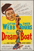 "Movie Posters:Comedy, Dreamboat & Other Lot (20th Century Fox, 1952). One Sheet (27"" X 41""), Title Lobby Cards (2), & Lobby Cards (3) (11"" X 14"").... (Total: 6 Items)"