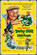 "Movie Posters:Fantasy, Darby O'Gill and the Little People (Buena Vista, 1959). One Sheet (27"" X 41""). Fantasy.. ..."