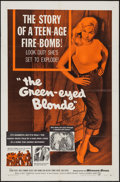 """Movie Posters:Bad Girl, The Green-Eyed Blonde (Warner Brothers, 1957). One Sheet (27"""" X41""""). Bad Girl.. ..."""
