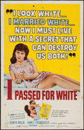 """Movie Posters:Exploitation, I Passed for White (Allied Artists, 1960). One Sheet (27"""" X 41"""") & Lobby Cards (10) (11"""" X 14""""). Exploitation.. ... (Total: 11 Items)"""