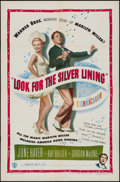 """Movie Posters:Musical, Look for the Silver Lining (Warner Brothers, 1949). One Sheet (27"""" X 41"""") & Lobby Cards (2) (11"""" X 14""""). Musical.. ... (Total: 3 Items)"""