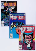 Modern Age (1980-Present):Superhero, Wolverine Group (Marvel, 1982-88) Condition: Average VF/NM....(Total: 82 Comic Books)