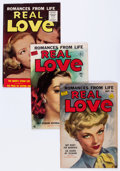 Golden Age (1938-1955):Romance, Real Love Group (Ace Periodicals, 1951-56) Condition: AverageVF-.... (Total: 7 Comic Books)