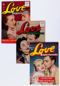 Golden Age (1938-1955):Romance, Love Experiences Group (Ace, 1954-56) Condition: Average FN....(Total: 8 Comic Books)