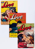 Golden Age (1938-1955):Romance, Love Experiences Group (Ace, 1951-56) Condition: Average FN....(Total: 24 Comic Books)